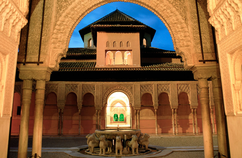 Visita nocturna Alhambra